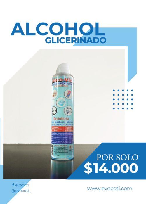Alcohol Glicerinado