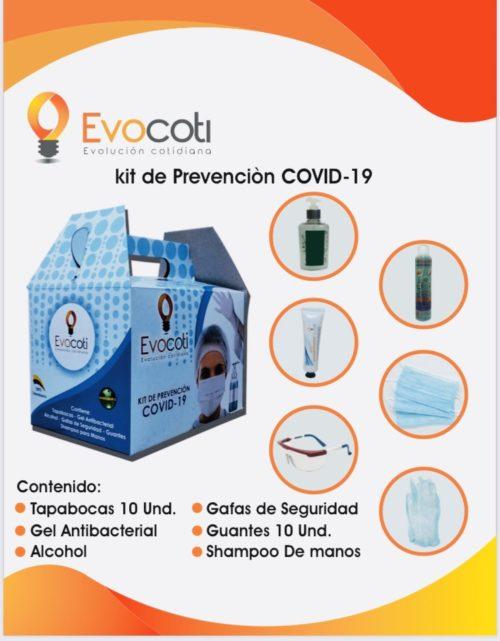 Kit de Prevencion Covid-19